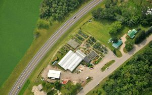 an aerial view of Tree Top Nursery